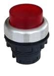 Кнопка выступающая белая с самовозвратом и подсветкой Ex9P1 RI w