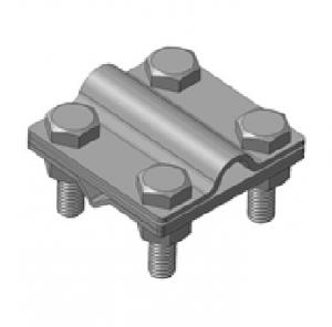 Зажим универсальный S, S557 D-Zn/Cu биметаллический, прут-полоса