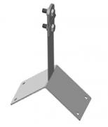 Коньковый держатель угловой с болтами DY-B, DY10-B/Zn оцинкованный