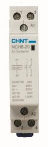Модульный контактор NCH8-20/11 230В AC 1NO+1NC