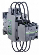 Контактор для коммутации конденсаторных батарей Ex9CC25 25А, 220В, 3p, 2НО+1НЗ