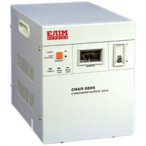 Стабилизатор напряжения СНАП 5кВА, 220В, 1-фазный, переносной