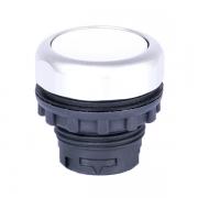 Кнопка плоская белая с самовозвратом Ex9P1 F w