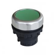Кнопка плоская зелёная с самовозвратом Ex9P1 F g
