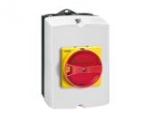 Выключатель нагрузки в корпусе IP65 GAZ025 25А 3р