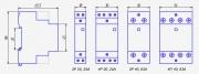Модульный контактор NCH8-63/11 230В AC 1NO+1NC
