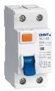 Дифференциальный выключатель NL1-63 6kA 2P 63A 30mA AC