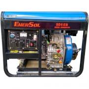 Дизельный генератор однофазный 5кВА EnerSol SD-6EB