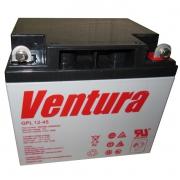 Аккумуляторная батарея Ventura GPL 12-45 (12В, 45Ач) свинцово-кислотная